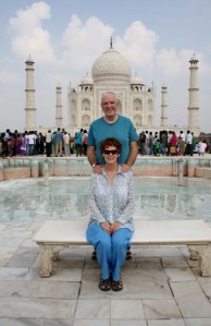 Del & Russell at Taj Mahal for email